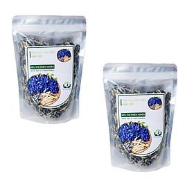 Hình ảnh Trà Hoa Đậu Biếc Sấy Khô Mộc Sắc 1Kg