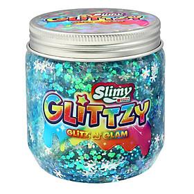 Đồ chơi SLIMY kim tuyến Fancy-xanh frozen mát lạnh (phiên bản mới)