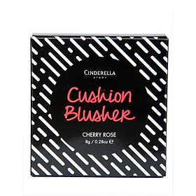 Phấn má hồng Cinderella Cushion Blusher 8g - Cherry Rose-1
