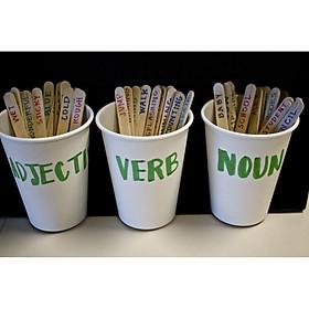 Giáo cụ dạy học - Set 50 que dạy ngữ pháp, từ vựng, mẫu câu giao tiếp