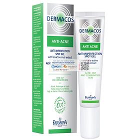 Gel Chấm Mụn Trứng Cá Farmona Dermacos Anti-Ance Anti Imperfection Spot Gel 15ml