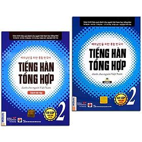 Sách - Combo Tiếng Hàn Tổng Hợp Dành Cho Người Việt Nam - Sơ Cấp 2 Phiên Bản Mới + Bài Tập (Combo, lẻ tùy chọn)