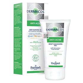Sữa Rửa Mặt Sạch Sâu, Ngừa Mụn Farmona Dermacos Anti-Acne Deep Cleansing Gel 150ml