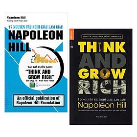 Combo Sách Kỹ Năng Làm Việc:  17 Nguyên Tắc Nghĩ Giàu Làm Giàu + 13 Nguyên Tắc Nghĩ Giàu Làm Giàu - Think And Grow Rich (Tái Bản) - (Phiên Bản Sẽ Làm Các Phiên Bản Khác Trở Nên Lỗi Thời / Sách Kinh Tế) - Tặng Kèm Bookmark Greenlife