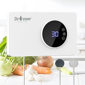 Máy rửa rau quả, khử độc thực phẩm  Dr.Ozone  400mg / giờ, khử trùng bình sữa màn hình cảm ứng - Hàng Chính Hãng