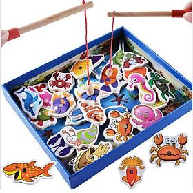 Đồ chơi gỗ thông minh - trò chơi câu cá