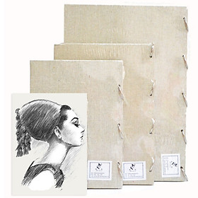 Sketch Pad Loose-leaf Blank Sketchbook Drawing Paper 60 Sheets Art Supplies for Artist Students Adults Writing Drawing