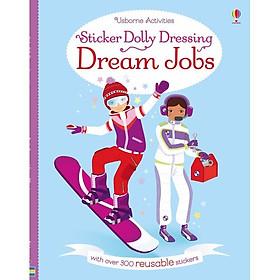 Usborne Sticker Dolly Dressing: Dream Jobs