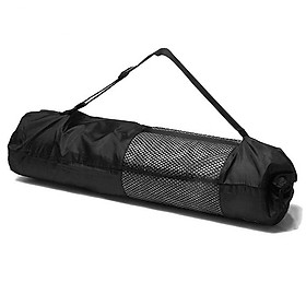 Túi đựng thảm Yoga vải dù gọn nhẹ, tiện lợi dành cho thảm yoga từ 4mm đến 8mm - Giao màu ngẫu nhiên