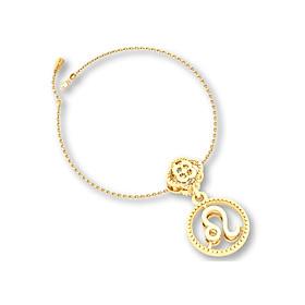 Mặt charm cung hoàng đạo Sư Tử vàng 14K DOJI 0120P-LAL359 (không bao gồm dây)