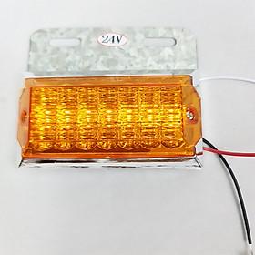 Đèn led ốp hông sườn xe tải và Container 2 chế độ loại công suất 24V siêu sáng Green Networks Group ( 1 đèn )