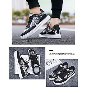 Giày nam sneaker thể thao họa tiết-9
