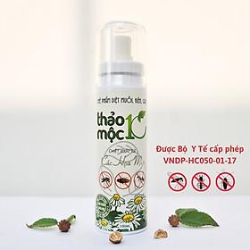 Diệt côn trùng gián, kiến, kiến ba khoang, muỗi, ruồi, mối, mọt 100% Sinh học Thảo mộc 10s Chai xịt 100ml An toàn cho sức khỏe em bé và người già , đã được Bộ Y tế cho phép lưu hành