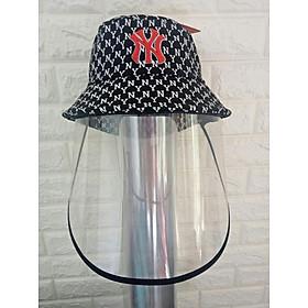 Mũ vải nữ có kính bảo vệ chống bụi chống nắng tốt