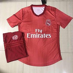 (THUN THÁI) bộ quần áo bóng đá Real Madrid