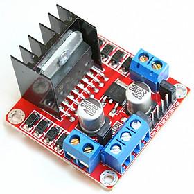 Module L298 Mạch Cầu H Điều Khiển Động Cơ DC