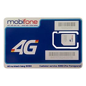 Sim 3G/4G Mobifone Nghe Gọi (Tặng 2GB / Ngày) - Hàng Chính Hãng - Màu ngẫu nhiên
