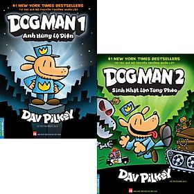 Combo 2 Quyển Dog Man Tập 1 + Tập 2