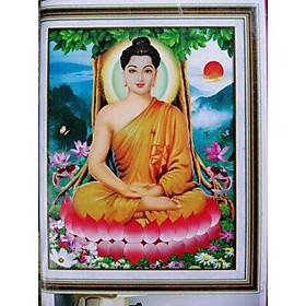 Tranh đính đá Phật A004 (60x80) chưa đính