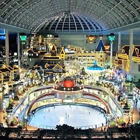 Vé Tham Quan Công Viên Lotte World, Seoul, Hàn Quốc
