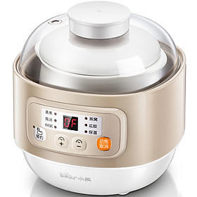 Bear electric stew pot intelligent heat preservation stew multi-function 0.8L