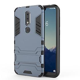 Ốp Lưng Cho Nokia 6.1 Plus X6 2018 iRON - MAN Nhựa PC Cứng Viền Dẻo Chống Sốc