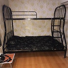 Giường sắt 2 tầng cao cấp trên 1m2 dưới 1m6