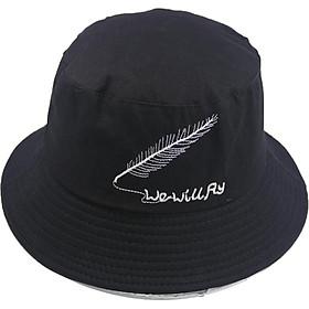 Mũ bucket tai bèo nam nữ thời trang hình chiếc lông We Will Fly