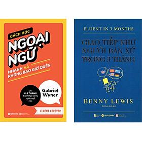 Combo Cách Học Ngoại Ngữ Nhanh Và Giao Tiếp Như Người Bản Xứ trong 3 Tháng ( Cách Học Ngoại Ngữ Nhanh Và Không Bao Giờ Quên + Giao Tiếp Như Người Bản Xứ Trong 3 Tháng ) (Tặng Tickbook đặc biệt)