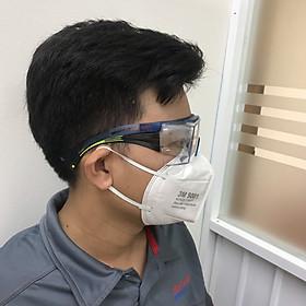 Kính bảo vệ mắt SF3701ASGAF-BLU 3M dành cho người sử dụng kính cận, chống đọng sượng cực tốt