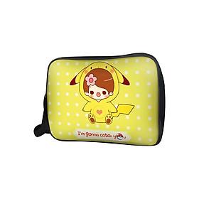 Túi Đeo Chéo Unisex Hộp Cô Bé Pikachu TCCP030