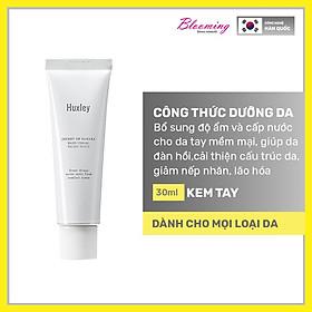 Kem dưỡng da tay mềm mịn, chống lão hoá Huxley Hand Cream Velvet Touch 30ml