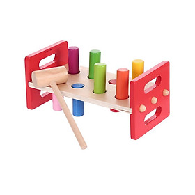 Bộ đồ chơi gõ bằng gỗ Miniso - Hàng chính hãng