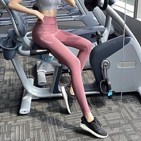 Quần Thể Thao Nữ Tập Gym Yoga Lưng Cao Nhiều Màu