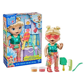 Đồ Chơi Búp Bê BABY ALIVE Làm Kem Cùng Bé Candy F1680