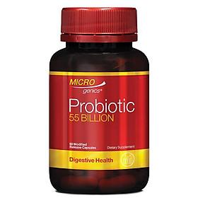 Microgenics Probiotic 55 Billion 60 Capsules