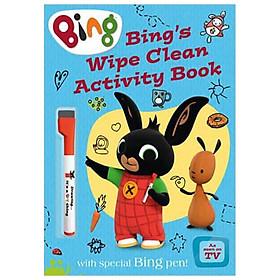 Bing — BING'S WIPE CLEAN ACTIVITY BOOK [not-US, CA]