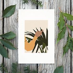 Tranh Poster Phong cách tối giản, Bohemian, Lady, Lifestyle, Fashion, Minimalism, Pastel, SOYN PTK008