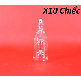 Bộ 10 bóng đèn led trang trí hình chai rượu, độc đáo hàng chính hãng.