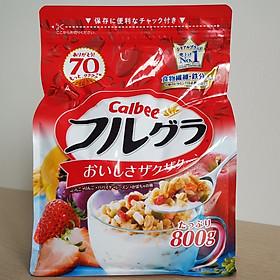 Ngũ Cốc Trái Cây Calbee FURUGURA Nhật Bản