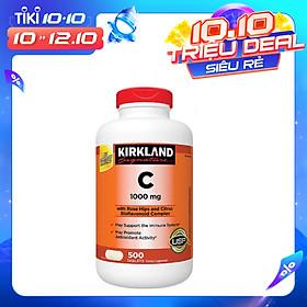 Viên Uống Bổ Sung Vitamin C Kirkland Signature Vitamin C (1000mg x 500 Viên)