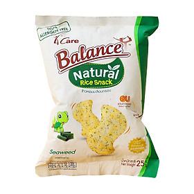 Bánh snack gạo vị rong biển 4Care Balance - 25g