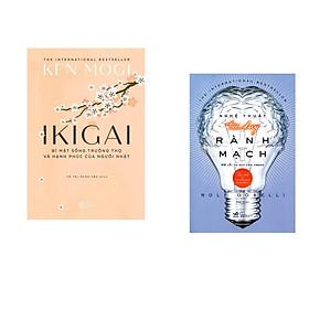Combo 2 cuốn sách: Ikigai bí mật sống trường thọ và hạnh phúc của người Nhật + Nghệ thuật tư duy rành mạch