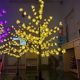 Cây Hoa Đào, Hoa Mai Đèn Led Cao 1.2m Trang Trí Lễ Tết Siêu Lung Linh - Nhỏ Gọn, Dễ Dàng Sử Dụng