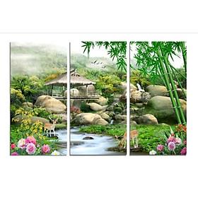 Tranh Treo Tường Hiện Đại Phòng Khách - Sơn Thủy  T3M--2853