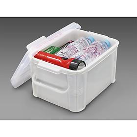 Hộp chứa/đựng vật dụng y tế & đồ cứu thương có tay cầm tiện dụng ( dung tích - 9 lít ) - Hàng nội địa Nhật Bản.
