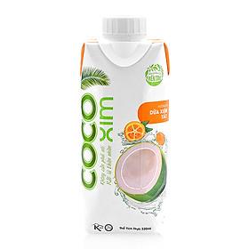 [Chỉ Giao HCM] - Nước dừa xiêm tắc COCOXIM - chai 330ml