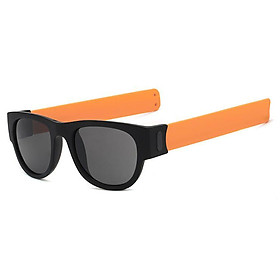 Round Sunglasses for Men and Women Outdoor Fold Sun Glasses Portable Sports Glasses