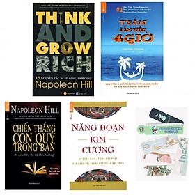 Combo 13 nguyên tắc nghĩ giàu làm giàu + tuần làm việc 4 giờ +chiến thắng con quỷ trong bạn +năng đoạn kim cương (bản đặc biệt tặng kèm bookmark AHA)