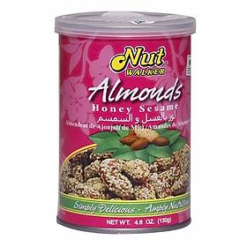 Hạt hạnh nhân mật ong mè Nut Walker (130g)